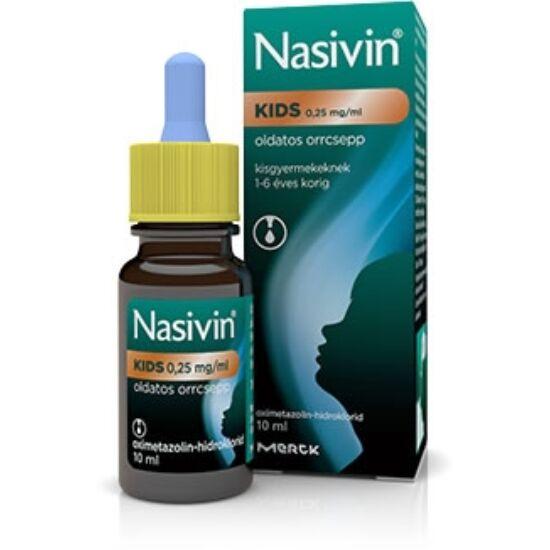 Nasivin 0,25 mg/ml oldatos orrcsepp 1x10ml