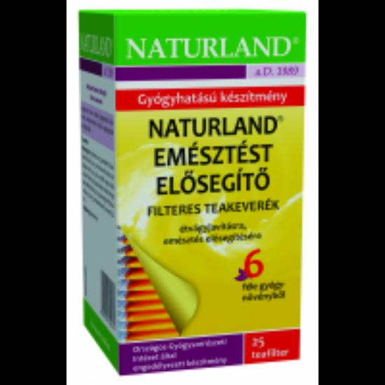 Naturland Emésztést elősegítő teakeverék filteres 25x1g
