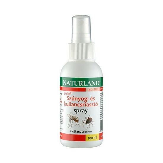Naturland szúnyog- és kullancs riasztó spray 100ml
