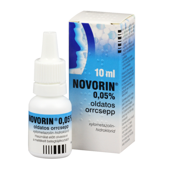Novorin 0,05% oldatos orrcsepp 1x10ml