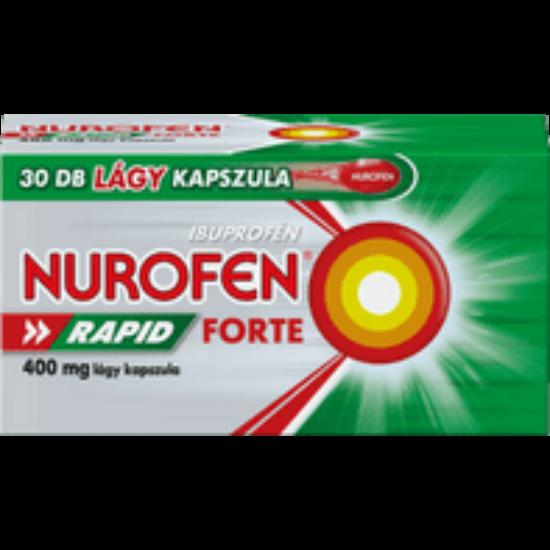 Nurofen Rapid Forte 400 mg lágy kapszula 30x