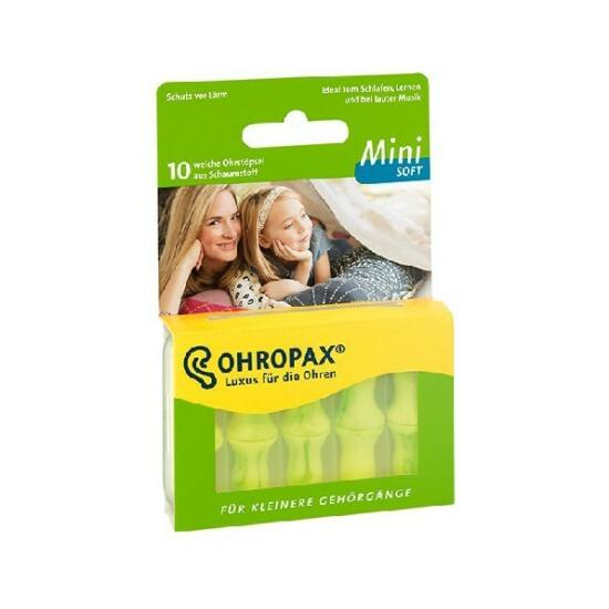 OHROPAX Soft mini füldugó 10x