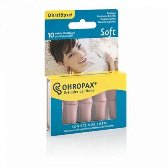 OHROPAX Soft füldugó habosított 10x
