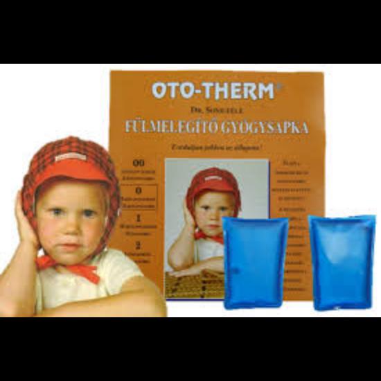 Oto-therm fülmelegítő gyógysapka 6 hónapostól -18 hónapos korig