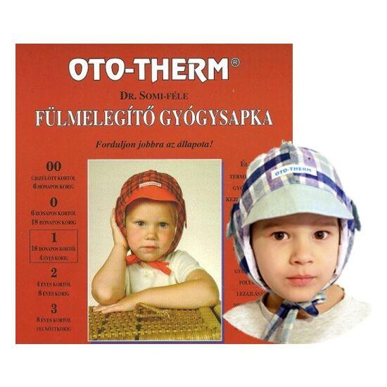 Oto-therm fülmelegítő gyógysapka 18 hónapostól - 4 éves korig