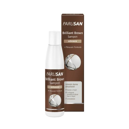 Parusan Brilliant Brown sampon nőknek 200ml