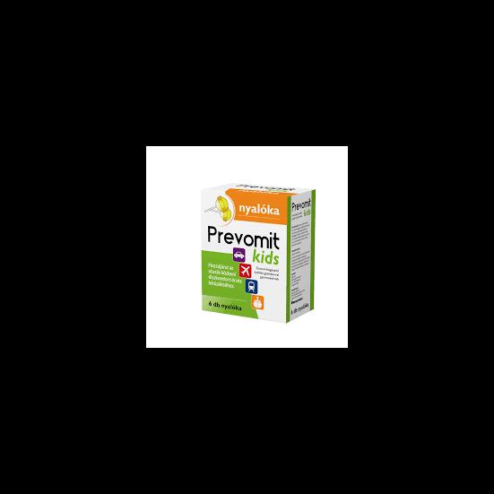 Predomit Kids nyalóka utazási rosszullétre 6x (régi név: Prevomit)