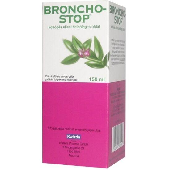 Bronchostop köhögés elleni belsőleges oldat 1x150ml