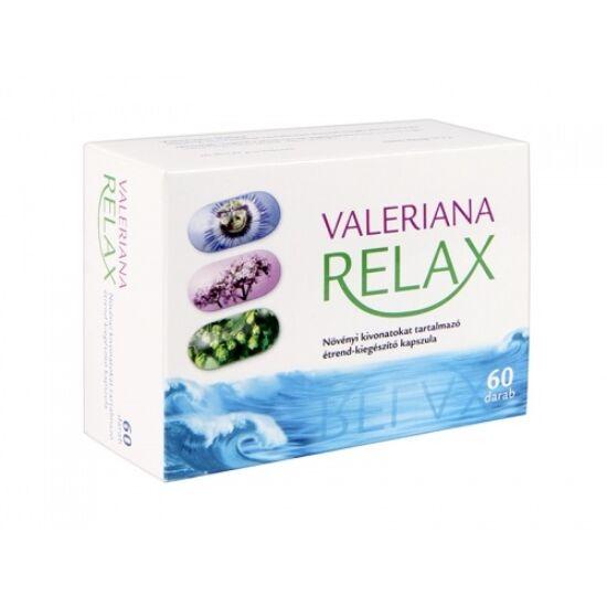 Valeriana Relax lágyzselatin kapszula 60x