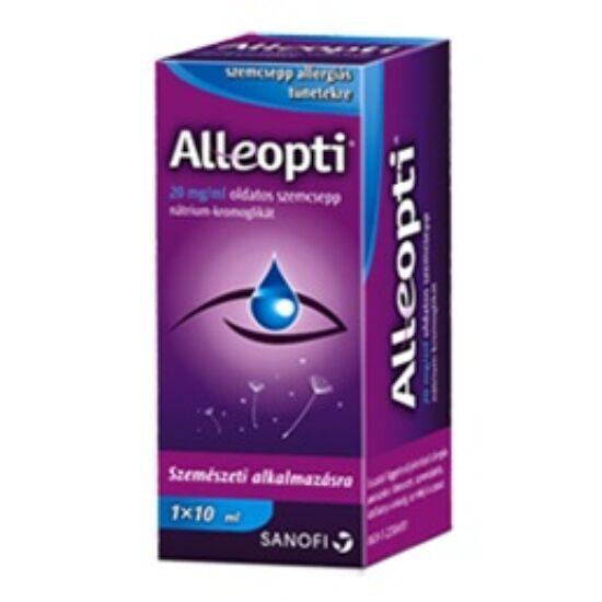 Alleopti 20 mg/ml oldatos szemcsepp 1x10ml