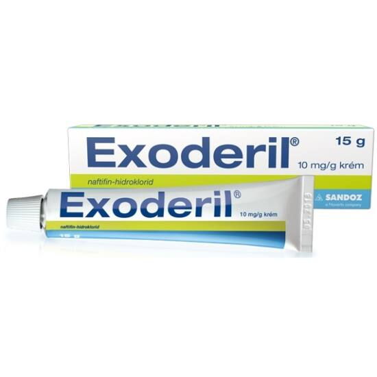 Exoderil 10 mg/g krém 15g