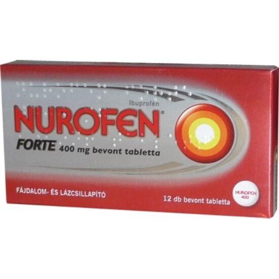 Nurofen Forte 400 mg bevont tabletta 12x