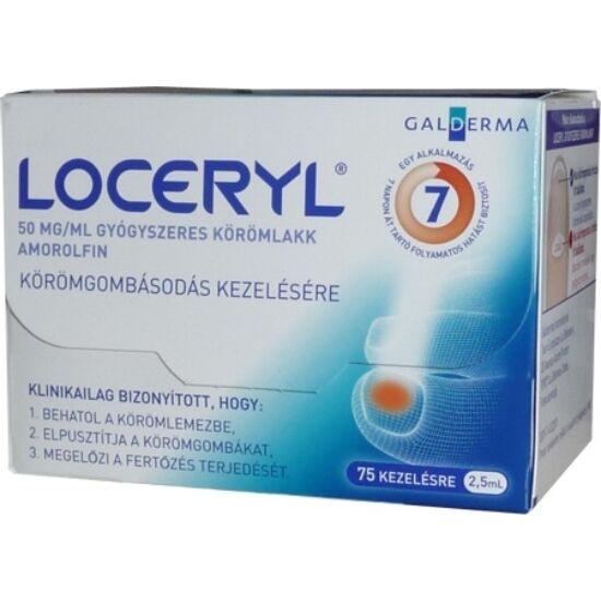 Loceryl 50 mg/ml gyógyszeres körömlakk 1x2,5ml