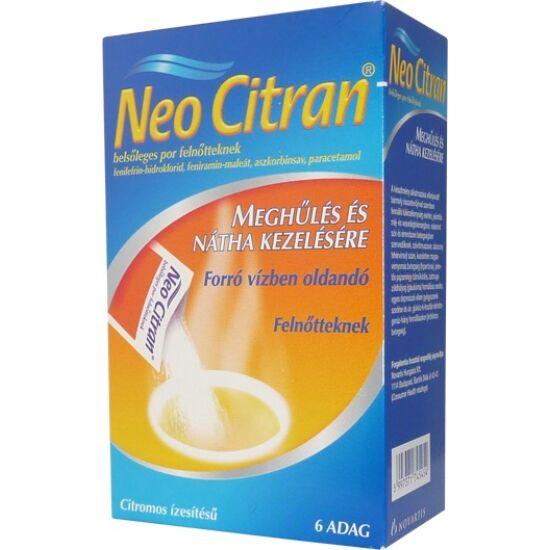 Neo Citran belsőleges por felnőtteknek 6x