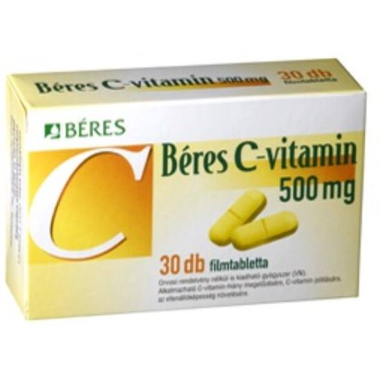 Béres C-vitamin  500 mg filmtabletta 30x