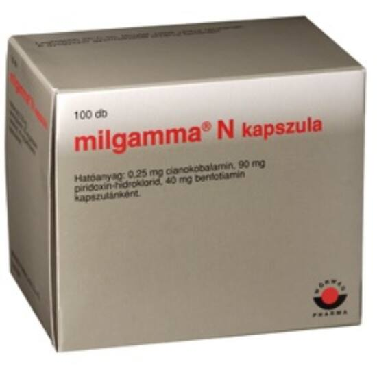Milgamma N lágy kapszula 100x