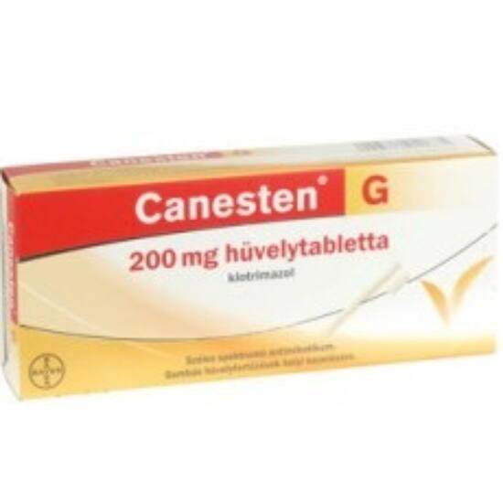 Canesten 200 mg hüvelytabletta 3x