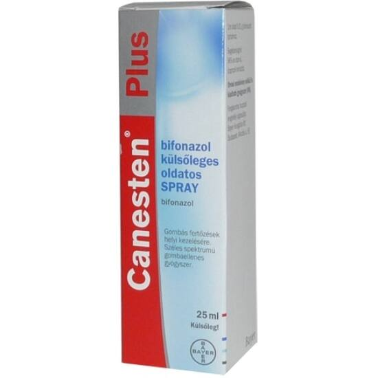 Canesten Plus bifonazol külsőleges oldatos spray 1x25ml