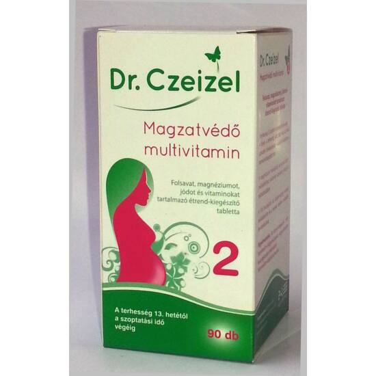 Dr.Czeizel Magzatvédő Multivitamin 2 90x + cumisüveg