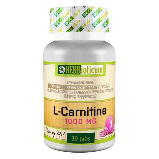 Herbioticum L-carnitin 1000 mg tabletta 30x
