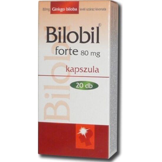Bilobil forte 80 mg kemény kapszula 20x