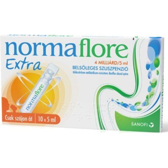Normaflore Extra 4 milliárd/5ml belsőleges szuszp. 10x5ml