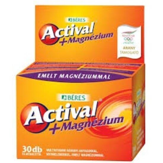 Actival Plus magnézium filmtabletta 30x
