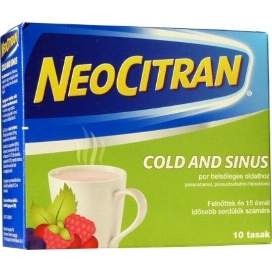 Neo Citran Cold and Sinus por belsőleges oldathoz 10x