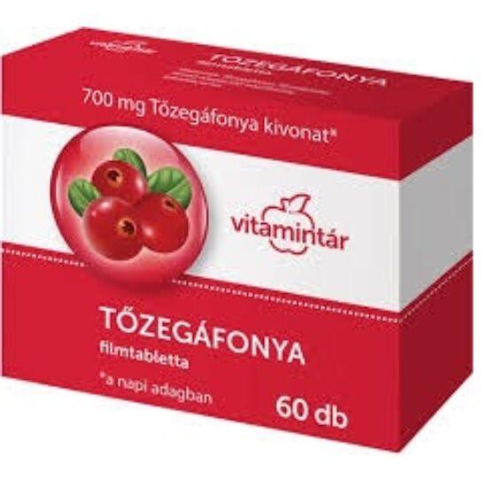 Béres Vitamintár tőzegáfonya filmtabletta 60x