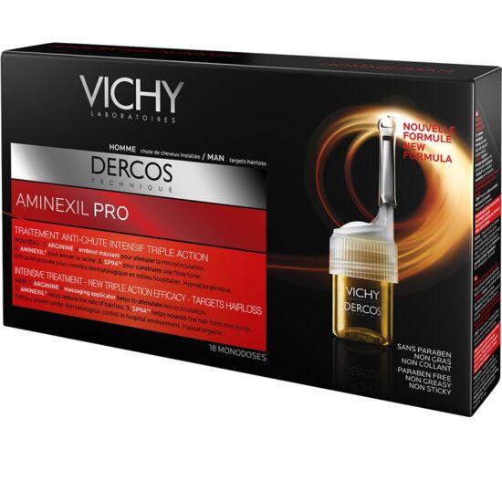 Vichy Dercos aminexil hajhullás ellen férfi 18x6ml