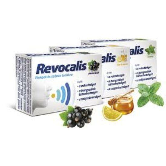 Revocalis szopogató tabletta méz-citrom 12x