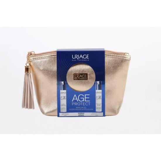 Uriage Age Protect ránctalanító csomag neszeszerben száraz bőrre 2x40ml