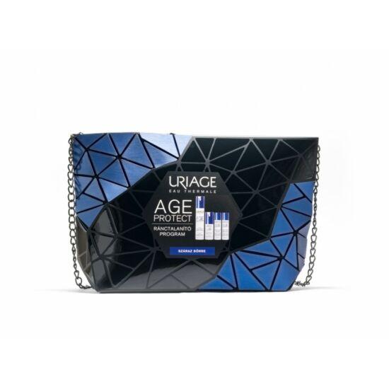 Uriage Age Protect ránctalanító csomag neszeszerben száraz bőrre 4x