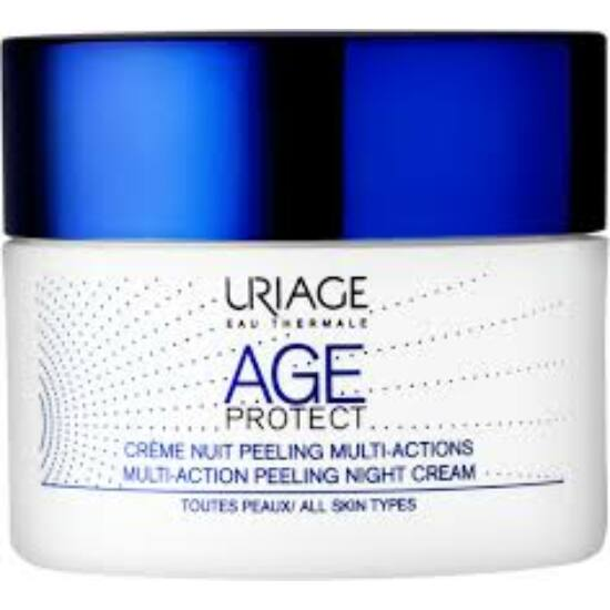 Uriage Age protect Peeling ránctalanító éjszakai krém 50ml