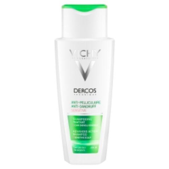 VICHY Dercos korpásodás elleni sampon érzékeny fejbőrre 200ml