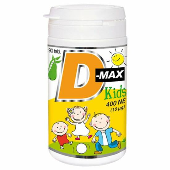 Vitabalans D-Max Kids 400NE tabletta 90x