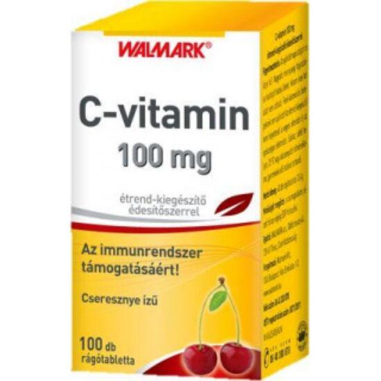 Walmark C-vitamin 100 mg cseresznye ízű rágótabl. 100x