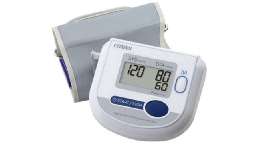 Citizen CH-453-AC automata felkaros vérnyomásmérő..