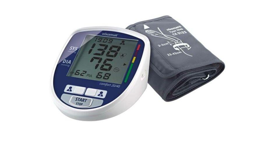VISOMAT Comfort 20/40 felkaros automata Vérnyomásmérő 23..