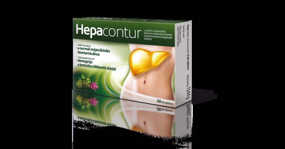 Hepacontur tabletta 30x - Májregenerálók - LigetPatika..
